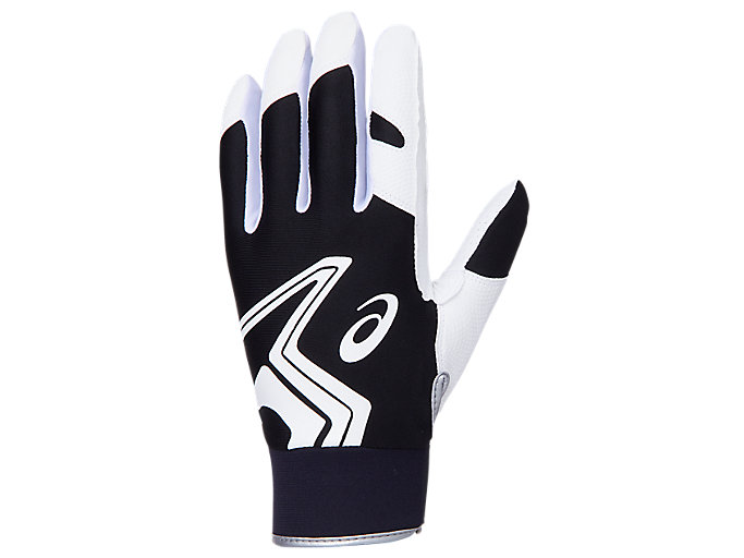 Alternative image view of NEOREVIVE 守備用手袋, ブラック×ホワイト