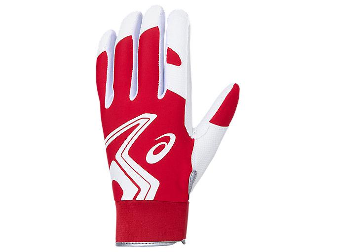 Alternative image view of NEOREVIVE 守備用手袋, レッド×ホワイト