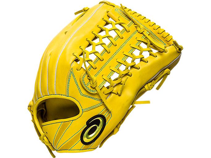 Alternative image view of PROFESSIONAL STYLE プロフェッショナルスタイル(丸モデル) 外野手用, ペアーゴールド