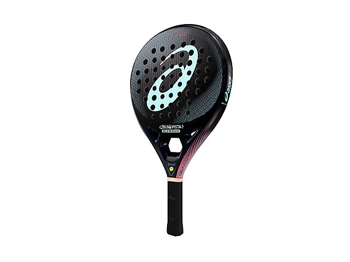 Alternative image view of MR WONDERFUL L.E. PADEL RACKET, PINK CAMEO / OCEAN DECAY