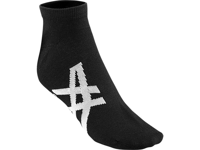 ANKLE SOCKS PERFORMANCE BLACK/FEATHER GREY 1 FT