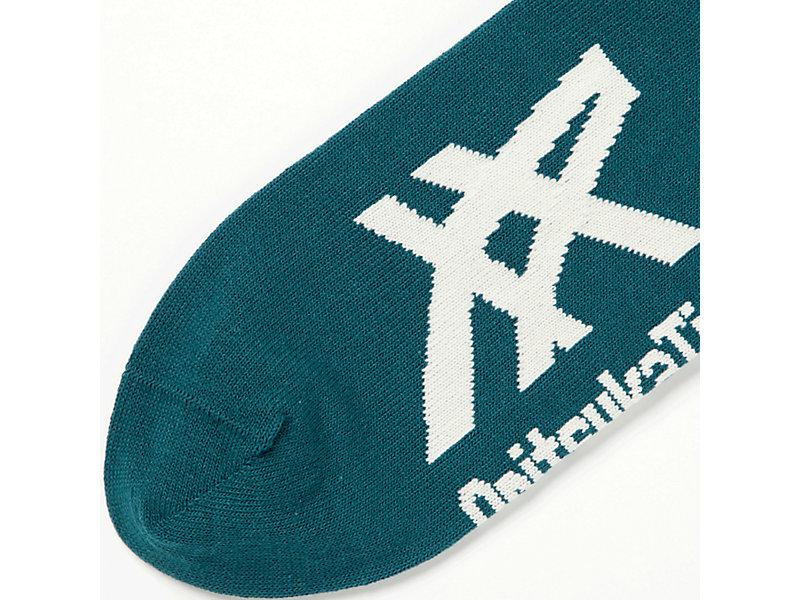 ANKLE SOCKS GREEN/IVORY 5 BK