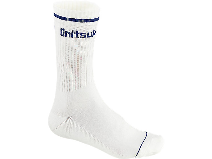 Alternative image view of MIDDLE SOCKS, REAL WHITE/PEACOAT