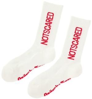 文字中筒襪