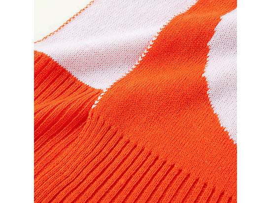 圍巾 ORANGE/WHITE