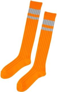 條紋中筒襪