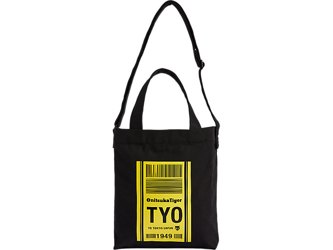 Alternative image view of CANVAS SHOULDER BAG, PERFORMANCE BLACK/TAI-CHI YELLOW