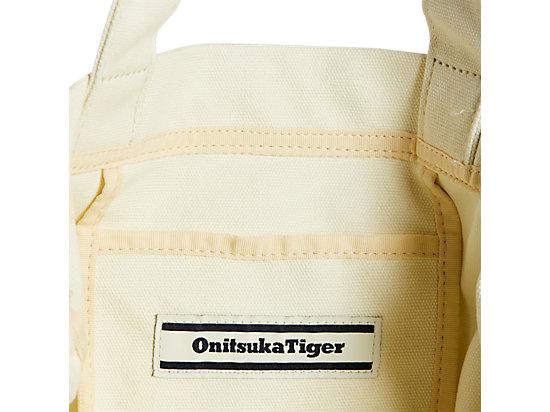 CANVAS SHOULDER BAG WHITE/BLACK