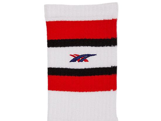 SHORT SOCK RED/WHITE