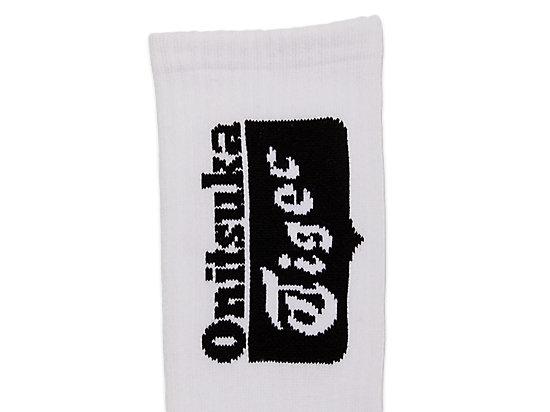 ONITSUKA TIGER中筒襪 WHITE