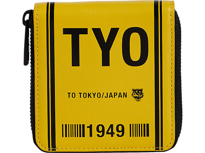Alternative image view of ZIP WALLET, TAI-CHI YELLOW