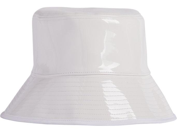 Alternative image view of ENAMEL PLAIN HAT, Real White