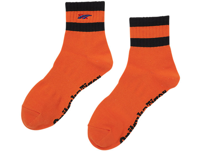 Alternative image view of SHORT SOCKS, Habanero/Performance Black