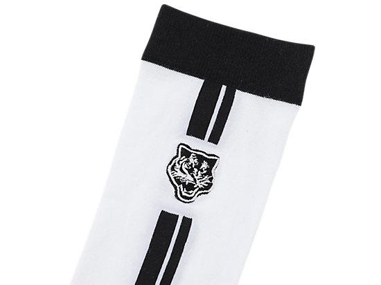 中筒襪 WHITE/BLACK