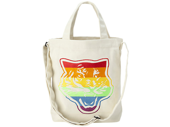 Alternative image view of CANVAS SHOULDER BAG, Real White