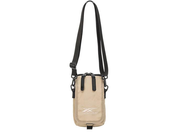 Alternative image view of SHOULDER BAG, Wood Crepe