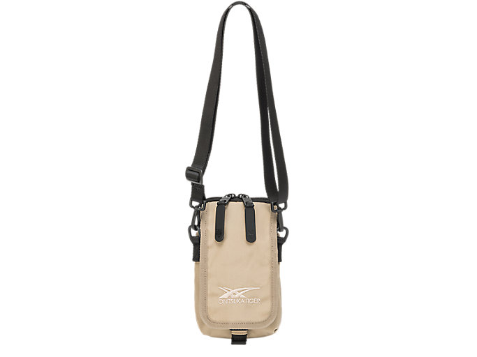 Alternative image view of SHOULDER BAG, Wood Crepe