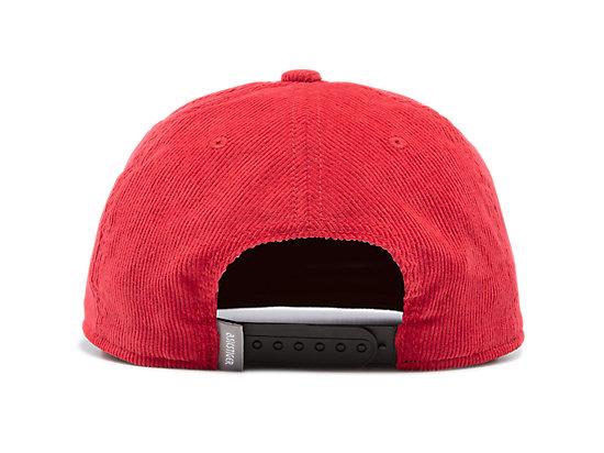 CORDUROY CAP CLASSIC RED
