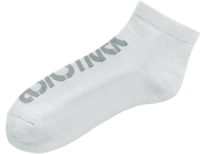 Front Top view of Big Logo Ankle Socks