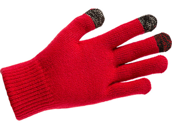 LOGO GLOVES CLASSIC RED