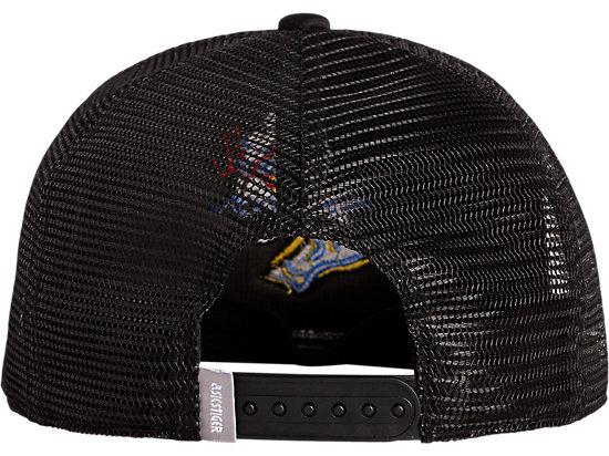 BACK MESH CAP PERFORMANCE BLACK