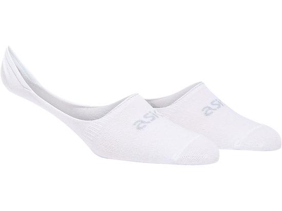 NS BASIC SOCKS WHITE/PIEDMONT GREY