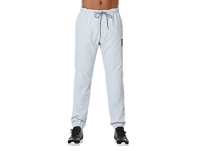 Front Top view of TRACK PANT, GREY