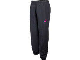 COLOURED WARM UP TRACK PANT WOMENS BLACK/PINK GLOW