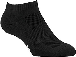 PACE LOW SOCK SOLID BLACK 0090