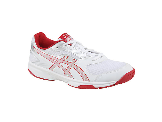 Alternative image view of UPCOURT 2, White/Prime Red/Silver