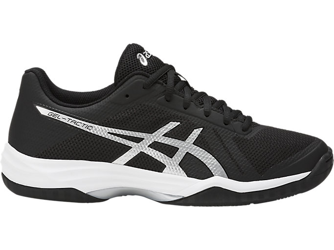 Women's GEL-Tactic 2   Black/Silver/White   Volleyball   ASICS