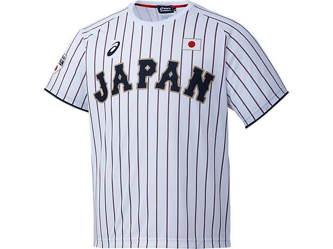 Alternative image view of ユニフォームTシャツ(H), サムライホワイト