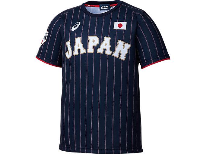 Alternative image view of JRユニフォームTシャツ(V), サムライネイビー
