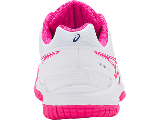 GEL-GAME 5 GS WHITE/PINK GLO