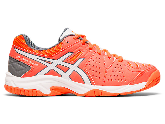 Alternative image view of GEL-PADEL PRO 3 GS, FLASH CORAL/WHITE