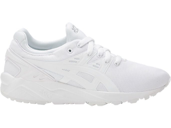 Right side view of GEL-KAYANO TRAINER EVO, WHITE/WHITE