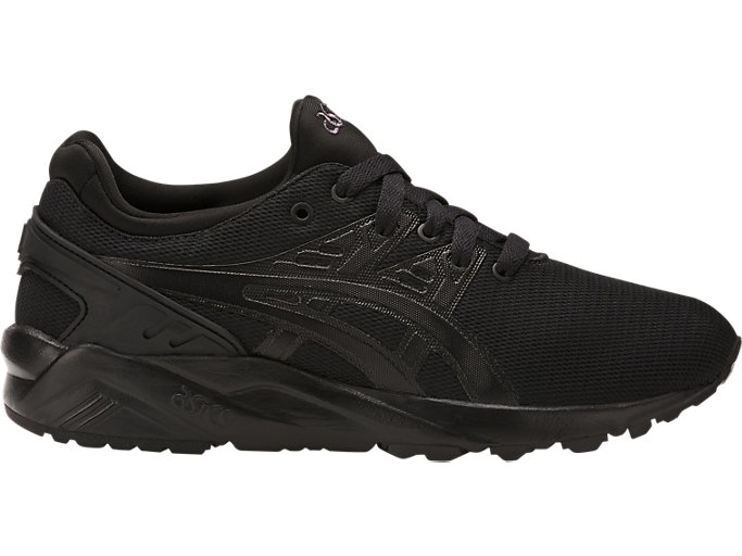 Right side view of GEL-KAYANO TRAINER EVO, BLACK/BLACK