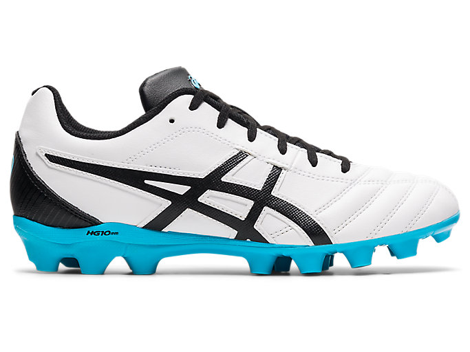 Unisex LETHAL FLASH IT GS | White/Black | Kids Football Shoes | ASICS