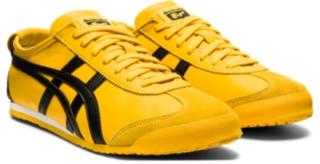 onitsuka tiger mexico 66 black and yellow 9s a�os 70