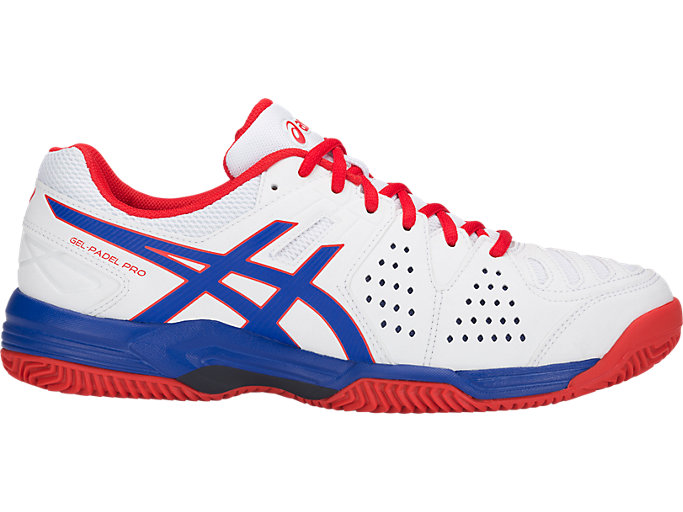 Men's GEL-PADEL PRO 3 SG | WHITE/ASICS BLUE | Tennis | ASICS ...