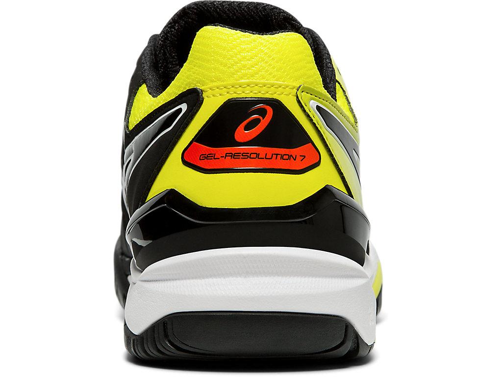 George Hanbury pasos insulto  Men's GEL-RESOLUTION 7   Black/Sour Yuzu   Tennis   ASICS