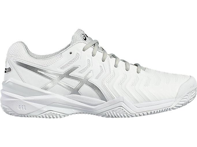 Comprimir Hablar Mejora  Men's GEL-Resolution 7 Clay Court | White/Silver | Tennis | ASICS