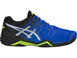 ASICS Gel - Resolution 7 Clay Illusion Blue / Silver Hombre