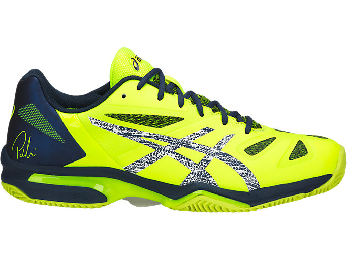 Unisex GEL-LIMA PADEL | SAFETY YELLOW/DARK BLUE | Otros ...