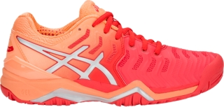 asics gel resolution 7 tennis shoes youtube