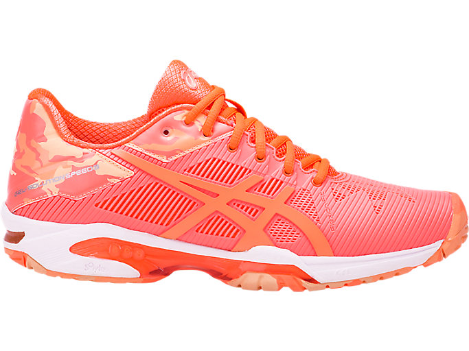 Geografía suave Amigo por correspondencia  Women's GEL-Solution Speed 3 L.E | Flash Coral/Cateloupe/Apricot Ice |  Tennis | ASICS