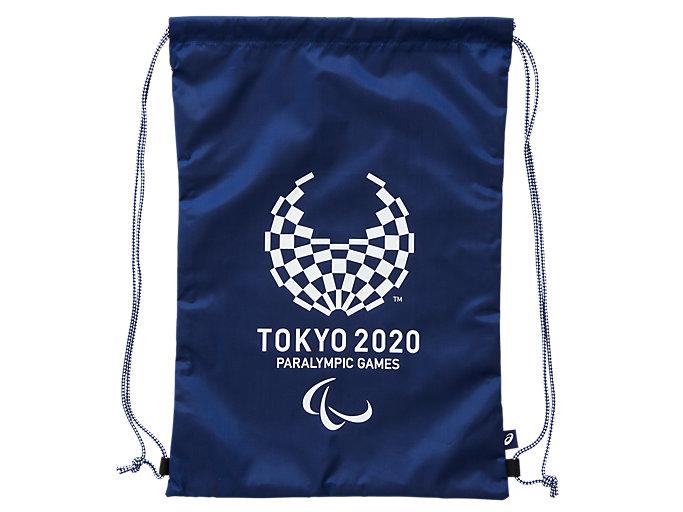 Front Top view of ライトバッグ(東京2020パラリンピックエンブレム), EMネイビー
