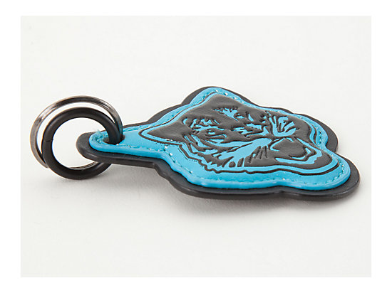 钥匙链 水蓝色/黑色