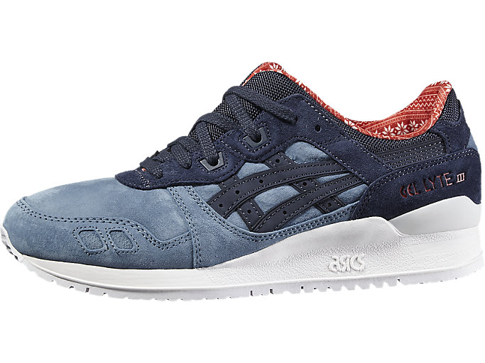 Right side view of GEL-LYTE III, BLUE MIRAGE/INDIA INK