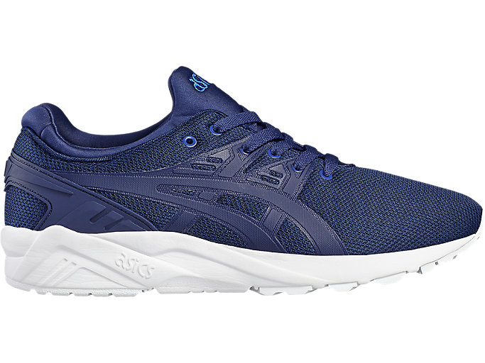 Right side view of GEL-KAYANO TRAINER EVO, INDIGO BLUE/INDIGO BLUE